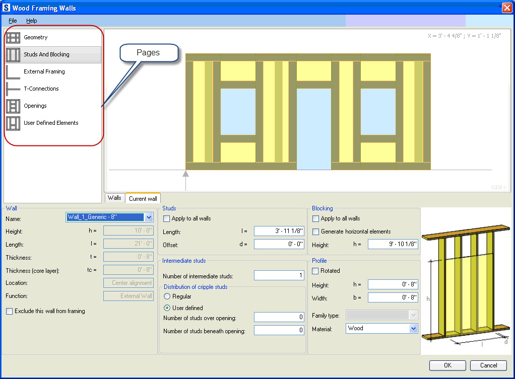 The Advantage of Revit Subscription: Wood Framing Walls