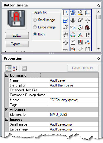 AutoCAD CUI Custom Commands - The CAD Masters