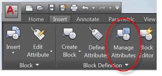 Block attribute manager the cad masters the block attribute manger allows you to choose a block by selecting it in your drawing or by selecting it from a list once a block is chosen gumiabroncs Image collections