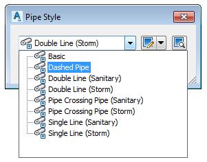 pipe style menu dropdown