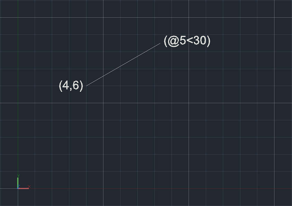 Drawing Lines In Autocad Using Coordinates : Coordinate systems in autocad the cad masters