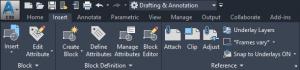 AutoCAD 2020 User Interface
