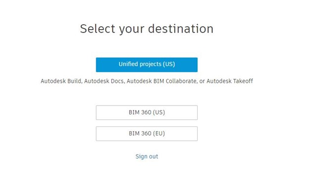Autodesk Docs set-up through manage.autodesk.com